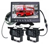 Rearview Camera System, Monitor & 2 Cameras