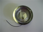Clear Recessed Mount Stainless Steel Backup Lamp