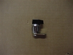 Lock Cylinder, Black Thumb Knob
