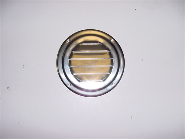 "4"" Round Louvered Vent"