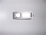 Trigger Latch, Non Locking, Textured Chrome