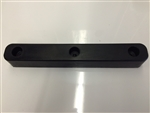 "Rubber Dock Bumper, 16"" x 2.5"" x 2"""