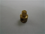 Brass Rod Adapter, 10-24 thread