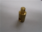 "Brass Rod Adapter, 1/4""-20 thread"