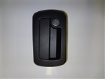 Trimark Door Handle, Locking, Black