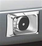 '05-'07 F-series Through Bumper Speaker, Driverside, Polished