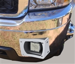 '11-'14  Chevrolet C3500 thru-bumper speakers, Driver Side