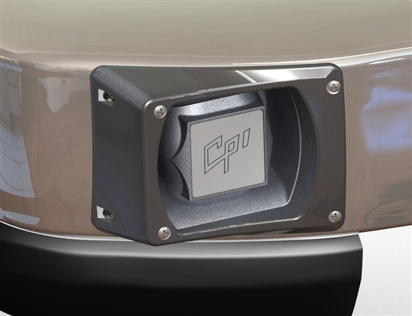 '08-Up Ford E-Series Through Bumper Speaker, Passenger Side