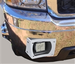 '11-'14 Chevrolet C3500 thru-bumper speakers, Passenger Side