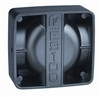 Federal Signal Dynamax 100W Speaker, Aluminum Housing