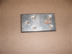 Ferno Large Aluminum Block for 175 cot latch, floor plate