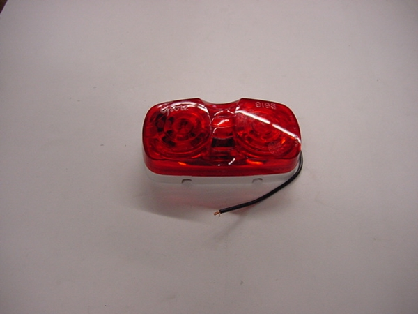 Duramold 2-Bulb Clearance Light, Red