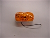 Duramold 2-Bulb Clearance Light, Amber