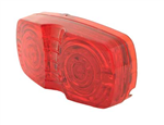 L.E.D. Duramold Style Clearance Light, Red