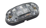 Amber LED Marker Light - Clear Lens
