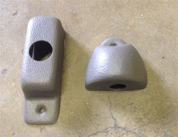 Plastic covers for McCoy-Miller squad bench latch