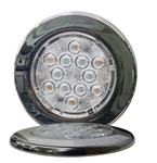 "TecNiq E06 4"" Round LED Compartment light"