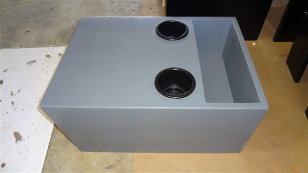 Type III Ford E-series console, Gray