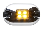 Whelen 0S Series Amber LED Marker