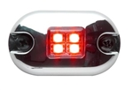 Whelen 0S Series Red LED Marker