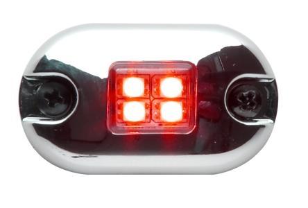 Whelen 0S Series Red LED Marker