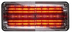 Whelen 700 Series Linear Super Red LED, Clear Lens