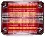 Whelen 900 Series Linear Super Red LED, Clear Lens