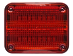 Whelen 900 Series Linear Super Red LED, Red Lens