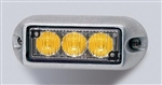 Whelen TIR3 Series Flashing Amber Super-LED