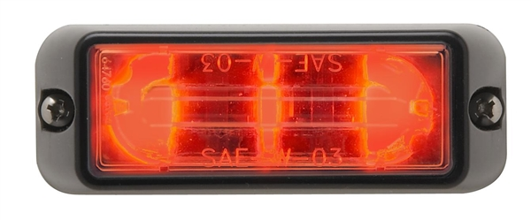 Whelen Lin3 Series Flashing Red Super Led