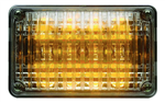 Whelen 400 Series Linear Amber Super-LED, Clear Lens
