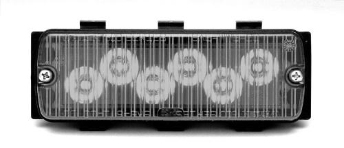 Whelen 500 Series Tir6 White Super Led Clear Lens