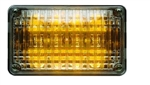 Whelen 600 Series Linear Amber Super-LED, Clear Lens