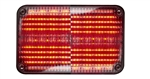 Whelen 600 Series Linear Red Super-LED, Clear Lens