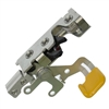 Wheeled Coach Rotary Latch w/ Yellow release (Side Entry), LH