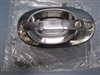 Wheeled Coach Oval Door Handle, Chrome (Entry)