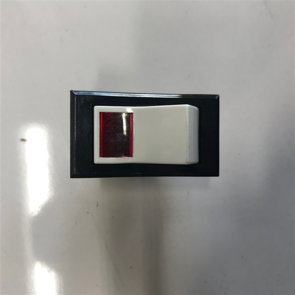 On-Off Switch, Red Lens