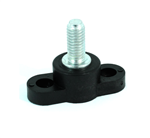 "Junction Block, 3/8"" Stud, Black"