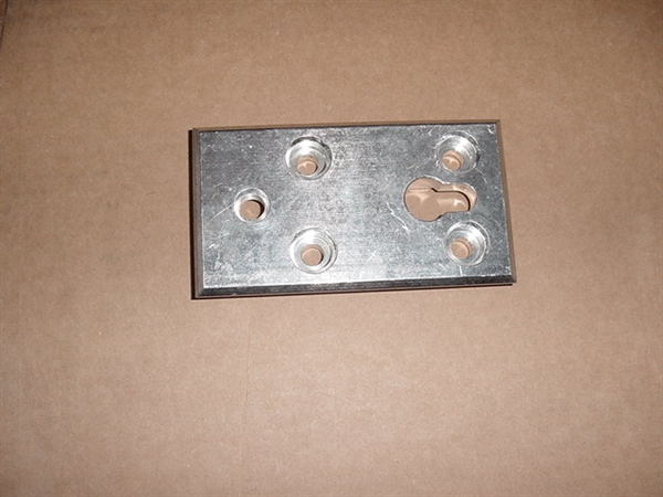 Ferno Large Aluminum Block For 175 Cot Latch Floor Plate