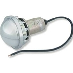 LED License Courtesy Light, Round