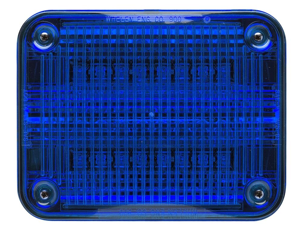 Whelen 900 Series Super Led Blue Led W Blue Lens