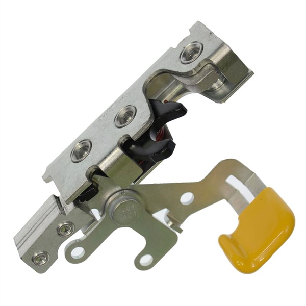 Wheeled Coach Rotary Latch W Yellow Release Side Entry Lh