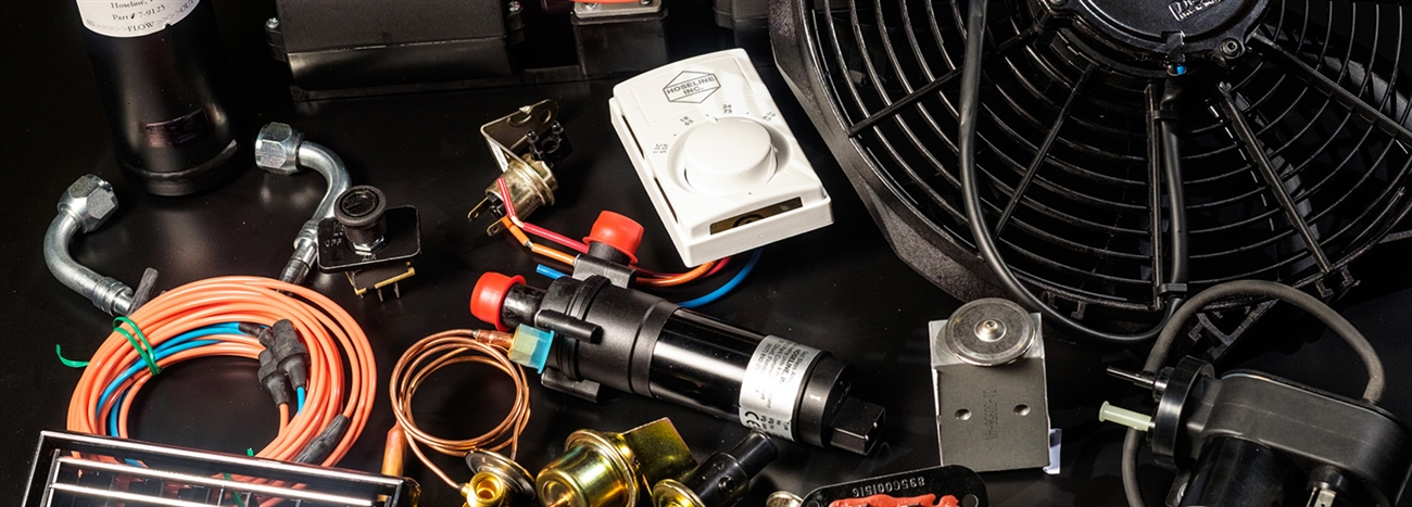 Ambulance AC parts, vacuum solenoid, ambulance parts, heater parts