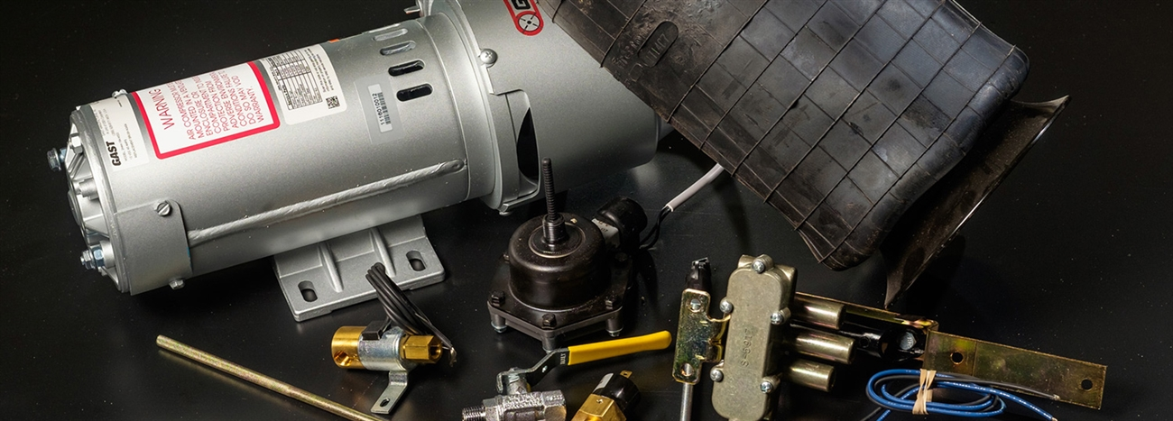 Reyco-Granning Air ride suspension parts, air compressor